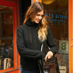 精选7折 €112收封面款毛衣petite mendigote 法式小众服饰鞋靴热卖 让你一见倾心的品牌