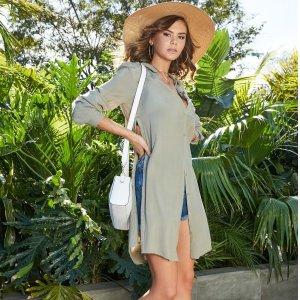 低至4折 $17收Logo TeeGuess 精选Eco系列服饰热卖 时尚又环保