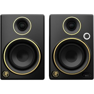 Mackie CR3 Limited Edition Gold Trim 3 in. Multimedia Monitors Pair