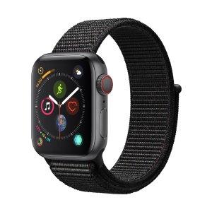 $429Apple Watch Series 4 (GPS + Cellular, 44mm) 黑色编织表带