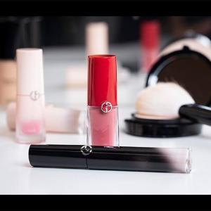 送热门红管口红400+最高返$60券Giorgio Armani 全线美妆热卖 买不够的诱人唇蜜