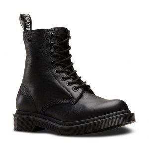 Dr Martens史低价!冲1460 Pascal 纯黑8孔马丁靴