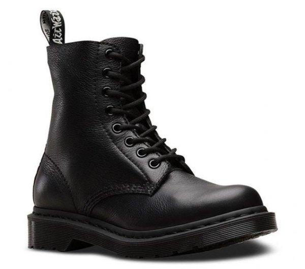 1460 Pascal 纯黑8孔马丁靴