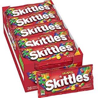 一袋仅$0.45Party必备Skittles 原味彩虹糖 36袋装