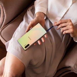 $1061(原价$1699)可退税史低价:Samsung Galaxy Note10+ 智能手机 多色多内存热卖