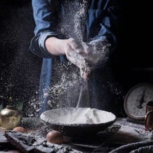粘米粉糯米粉生粉 白白的看上去都一样厨房里那么多的粉 到底如何合理使用 厨房粉类指南