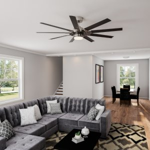 Today Only:$199Fanimation Studio Collection 72-in Ceiling Fans