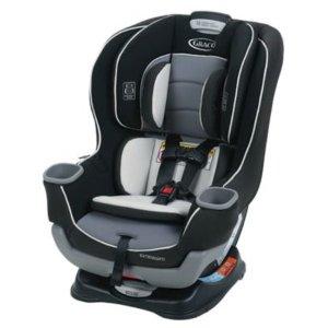 $121.75 (原价$199.99)Graco Extend2Fit 双向儿童汽车安全座, Gotham 色