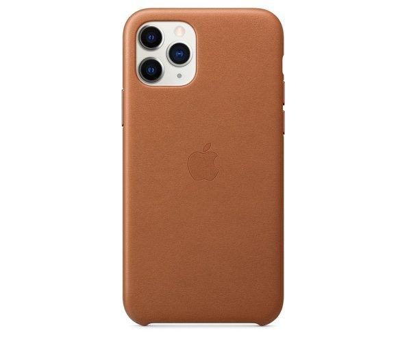 """皮革保护壳 For iPhone 11 Pro (5.8"""") - 深棕色"""