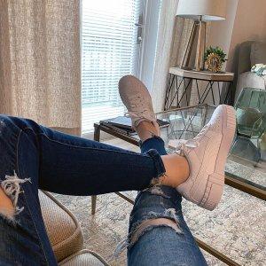 PumaCarina 粉尾小白鞋