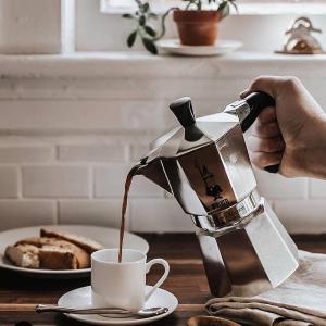 2人份壶 折后€19Bialetti 意大利人手一个的摩卡壶 自制神仙咖啡 可做多人份