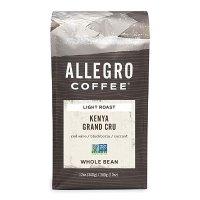 Allegro Coffee Kenya Grand Cru全豆咖啡,12盎司