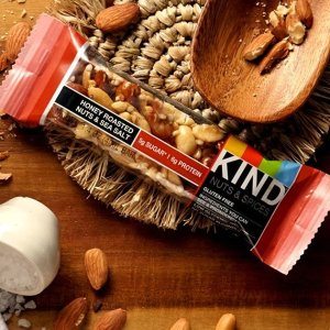 $7.62KIND Bars, Caramel Almond Pumpkin Spice, Gluten Free, 1.4 Ounce Bars, 12 Count