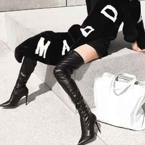 低至4折+额外8折Steve Madden 官网折扣区美鞋特卖,收巴黎世家袜子鞋替代