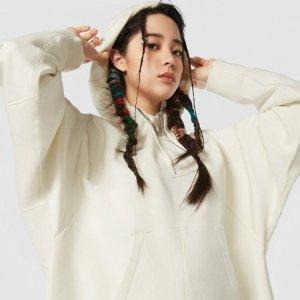 €70起收卫衣、休闲裤Converse SHAPES系列 欧阳娜娜同款卫衣 超好看超百搭