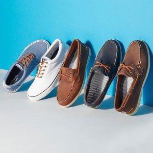 低至5折+额外7折 Creamsicle合作款休闲鞋$22折扣升级:Sperry 年中大促 夏季舒适美鞋好价