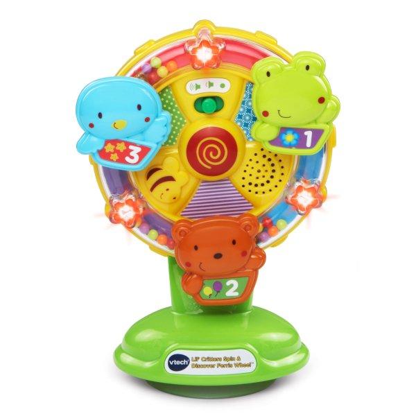 转盘声光益智玩具