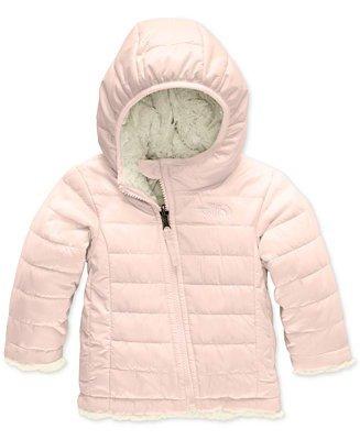 女婴正反两穿保暖外套
