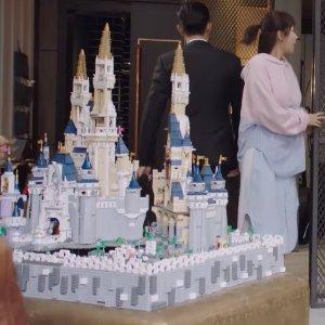 一套破千的组合 了解一下LEGO官网 李现同款 迪士尼城堡 71040 + 41154