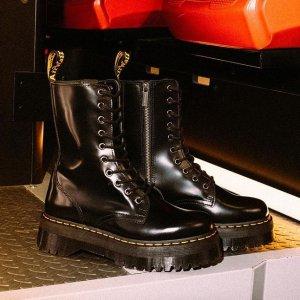 低至3.6折Dr.Martens 夏季大促开启 收经典1460马丁靴、切尔西靴