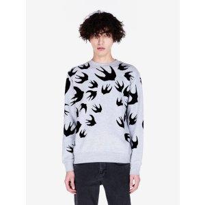 """Swallow Swarm"" Sweatshirt McQ | Sweatshirt |"
