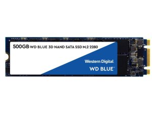 $51.99 (原价$79.99)WD Blue 3D NAND M.2 2280 500GB 固态硬盘