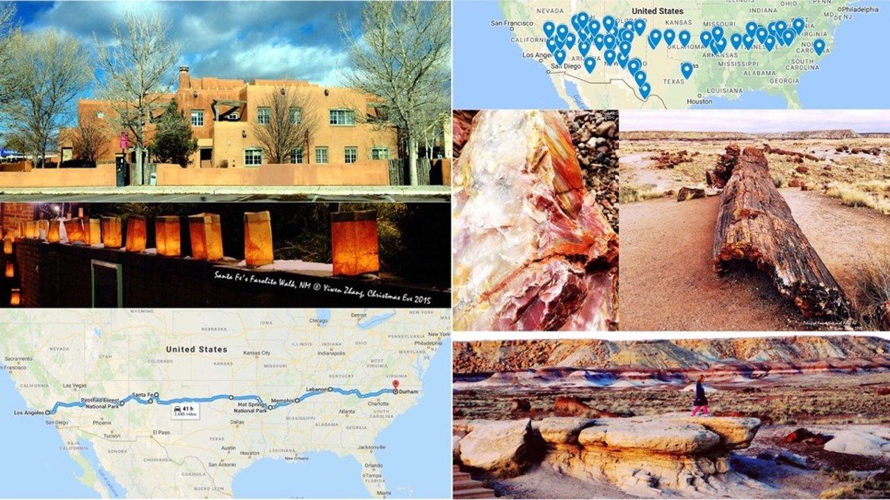 4200多公里横穿美国的搬家之旅:(2)准备+沿途各州景点罗列+美西短途环线