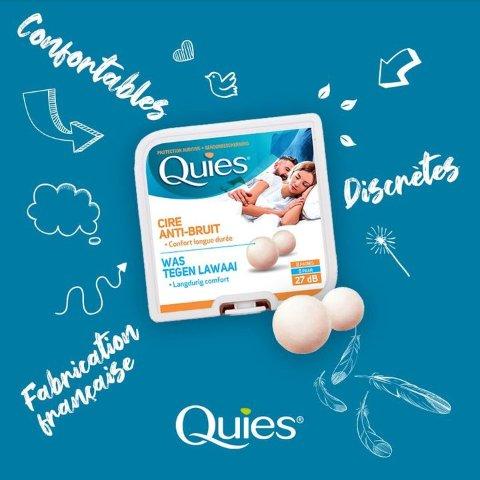 5.2折起 低至€0.6/对Quies 耳塞 专业降噪隔音有效助眠 舒适无压力 紧密贴合耳道