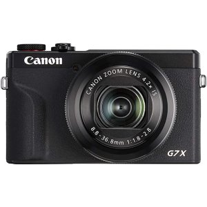 CanonPowerShot G7X Mark III Digital Camera , Black (G7XIIIBK)