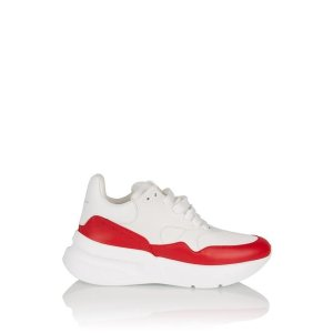Alexander McQueen新款小白鞋