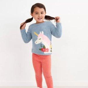 6折起+包邮Hanna Andersson 秋冬童装促销,棉服和毛衣全面上新