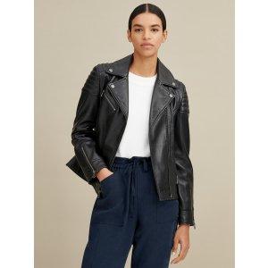Wilsons LeatherLeather Moto Jacket