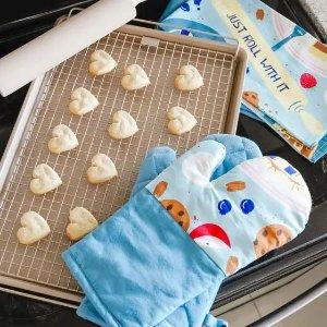 蓝莓派厨房纺织品