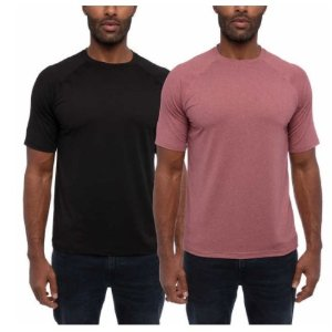 Costco Glacier Performance Men's Shirt, 2-pack