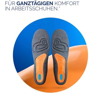 折后仅€6.79 原价€14.99 踩棉花触感Scholl 乳胶鞋垫 减轻疲劳 12小时减震 除臭除汗 男士皮鞋神器