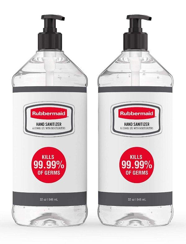 Rubbermaid 杀菌消毒免洗洗手液 32oz x 2瓶
