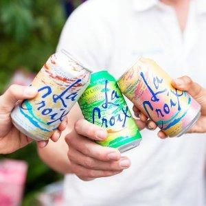 $5.94起 一箱 多味选 清新你的味蕾LaCroix 美国天然水果味气泡水 饮料界的小网红 Ins爆款