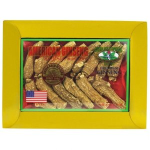 Half Short American Ginseng Extra Large 4oz box