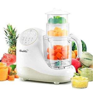$60.49(原价$109.99)BABLE 全合一宝宝辅食料理机,健康饮食变得更简单