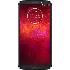 $149.99起Moto Z3 Play 32GB 解锁版智能手机 送3个月Mint话费