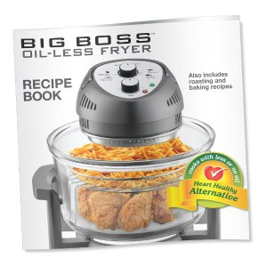 Big Boss 1300 W Silver Convection Countertop Oven