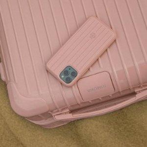 £520起 同色手机壳£65RIMOWA  新色Essential 系列发售 沙漠玫瑰粉、仙人掌绿你pick哪个?