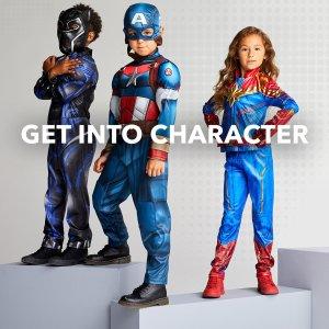 低至6折迪士尼官网 儿童家居服、扮演服等促销,花木兰、美队都有