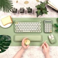 LOFREE x 京造 联名款 圆点无线机械键盘套装 清凉抹茶配色