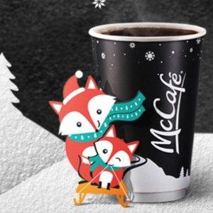 任何size只要$1麦当劳McCafé Premium Roast 咖啡特价