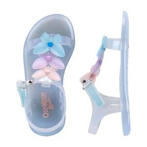 OshKosh B'goshShimmer Butterfly Jelly Sandals