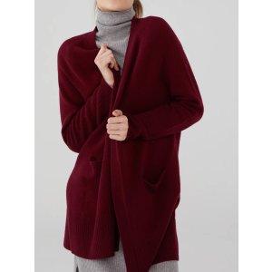 羊毛羊绒开衫 多色选