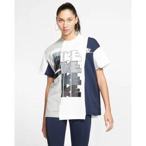 NikeNike x Sacai Women's Hybrid T-Shirt. Nike.com