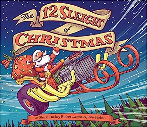 童书,圣诞节的12个雪橇