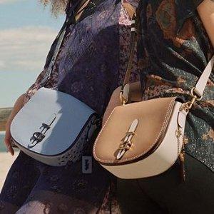低至7折 可盐可甜独家:Coach 新款马鞍包系列热卖 最流行的复古时尚